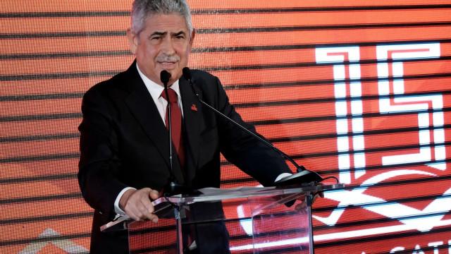 """Vieira: """"Hoje, o Benfica é visto como um exemplo"""""""