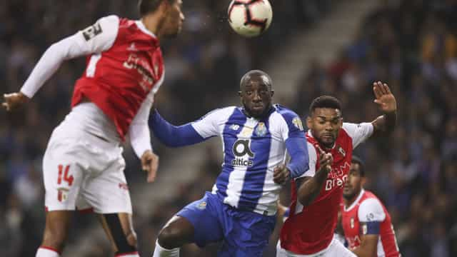 [0-0] FC Porto-Sp. Braga: Esgaio acerta na trave