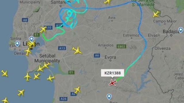 """Avião  teve """"falha crítica nos sistemas de navegação e controlo de voo"""""""