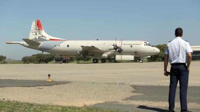 Avião da Air Astana continua na Base Aérea de Beja a aguardar reparação