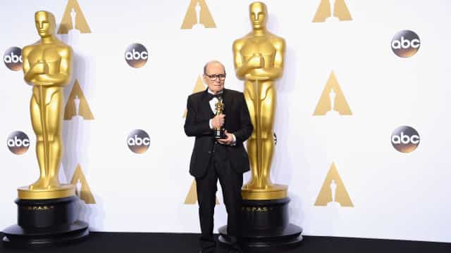 """Ennio Morricone arrasa Quentin Tarantino: """"Copia os outros"""""""