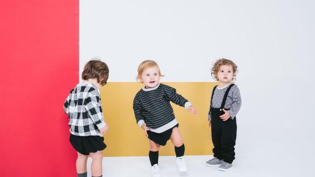 Picolé Limão veste os mais novos com peças unissexo de algodão biológico