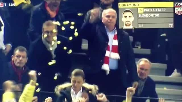 Vencidos e 'banhados' em cerveja: As imagens virais da derrota do Bayern