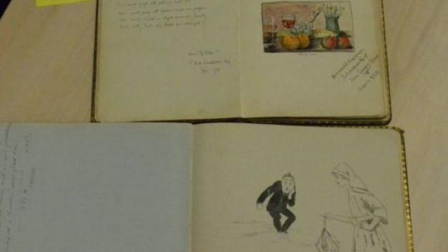 Notas de enfermeira da I Guerra Mundial entregues à família após 100 anos