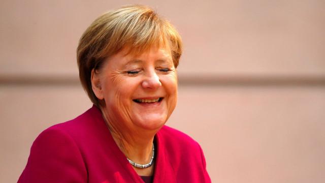 Angela Merkel debate hoje futuro da Europa no Parlamento Europeu