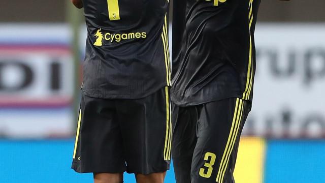 """Giorgio Chiellini confessa: """"Gostava de jogar contra o Ronaldo"""""""