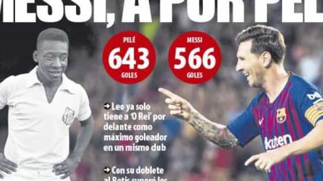 Imprensa internacional: Messi, Rooney e um 'super' Allegri
