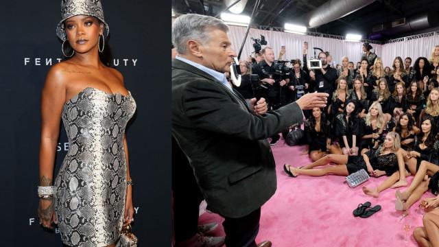 Rihanna 'critica' diretor criativo da VS após recusar modelos transexuais