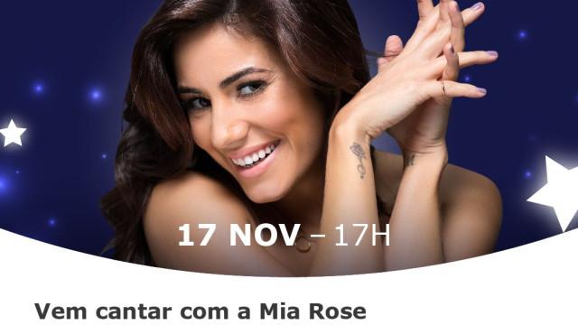 Mia Rose é a madrinha deste Natal no MAR Shopping Algarve