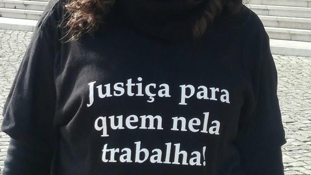 Greve parcial de funcionários judiciais com forte adesão em Sintra