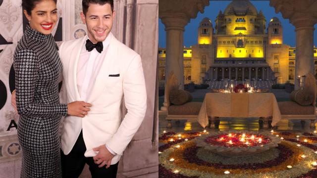 Que sonho! Priyanka Chopra e Nick Jonas vão-se casar num palácio