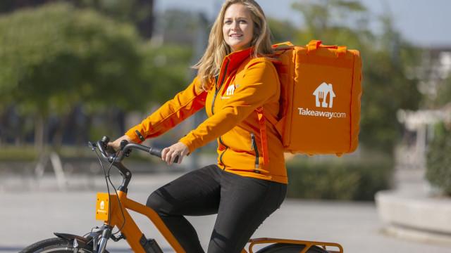 Takeaway.com em Lisboa com entregas gratuitas e ecológicas