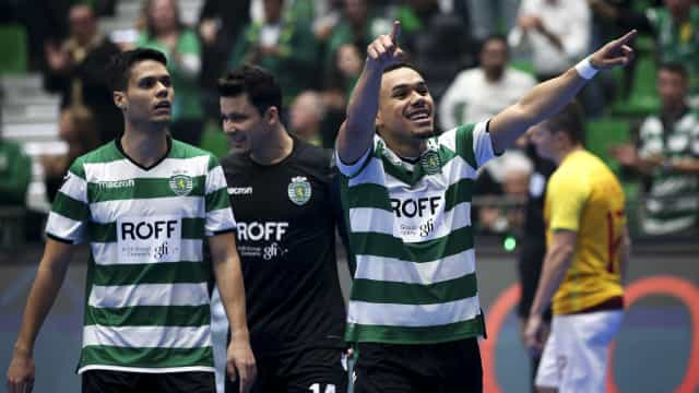 Sporting joga fase final da UEFA Futsal Champions League no Cazaquistão