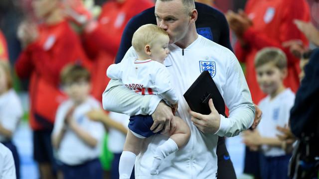 As imagens do adeus de Rooney à seleção inglesa