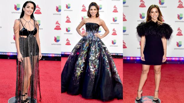 Grammy Latinos: Os looks que desfilaram pela passadeira vermelha
