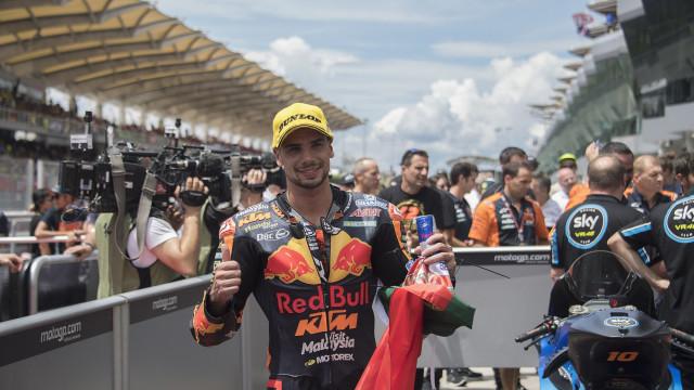 Miguel Oliveira explica escolha do número 88 no MotoGP