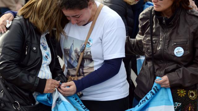 Marinha argentina anuncia descoberta de submarino desaparecido há um ano