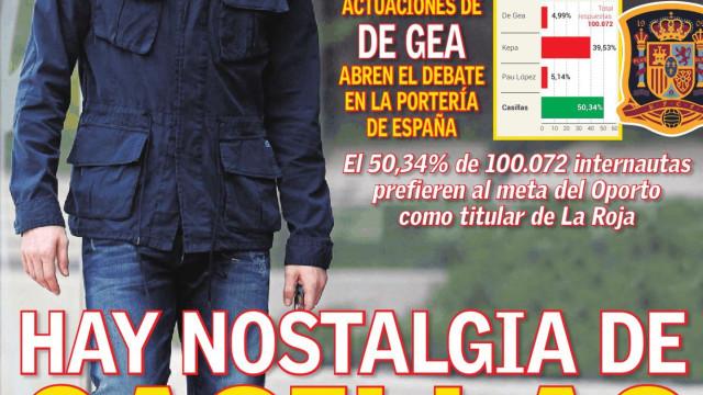 Lá Fora: A nostalgia de Iker com uma nova Itália à espera de Portugal