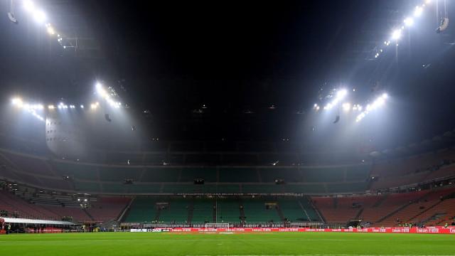 Itália-Portugal: Já há onzes em Milão