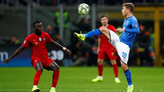 [0-0] Itália-Portugal: Donnarumma evita o golo de William