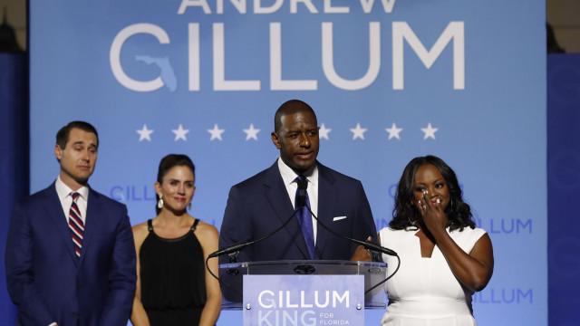 Candidato democrata a governador da Florida admite derrota eleitoral