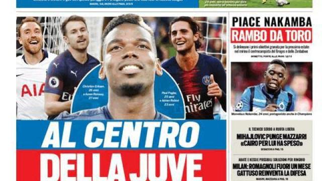 Lá Fora: Pogba na Juve, Rabiot no Barça e ainda a Liga das Nações