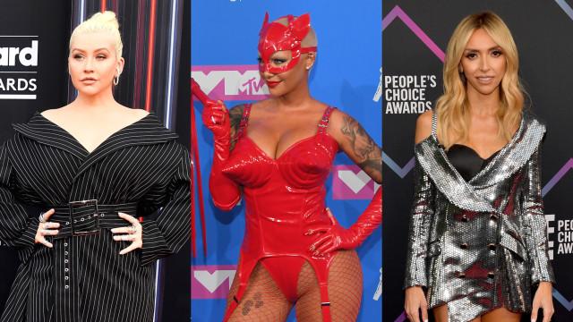 Os piores looks das celebridades em 2018