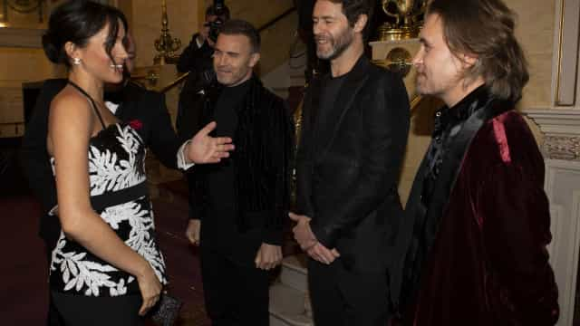 O momento 'embaraçoso' de Meghan Markle com os Take That
