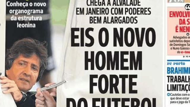 Cá dentro fala-se fala da Seleção e do Sporting... o antigo e o do futuro