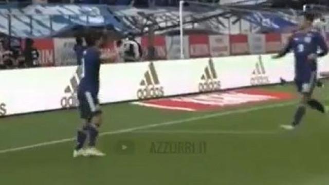 Nakajima fechou goleada do Japão com chave de ouro