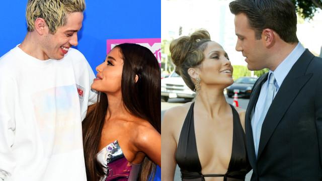 Lembra-se destes casais de celebridades?