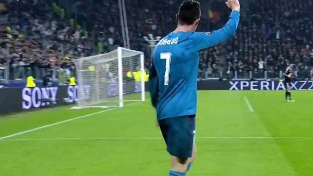 Ronaldo marcou a Buffon e só agora revelaram um gesto do italiano