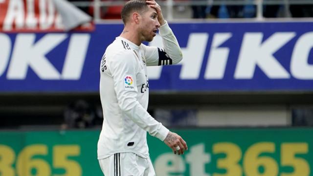 Sergio Ramos reage às acusações de doping e promete avançar legalmente