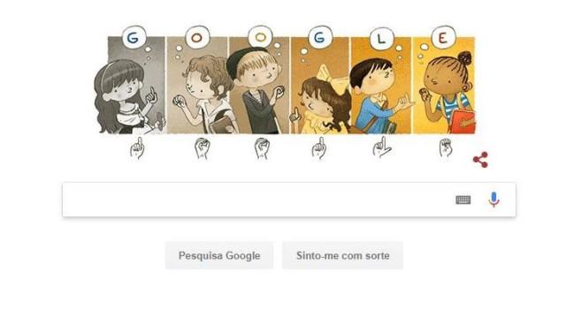 """Google homenageia este sábado o """"pai dos surdos"""""""