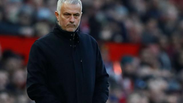 Mourinho não 'perdoa' e convoca treino para as 16h do dia de Natal