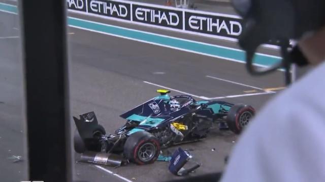 O incrível acidente na partida do GP de Abu Dhabi em Fórmula 2