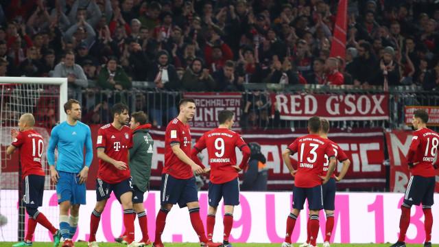 """Bayern em crise antes do Benfica: """"Raiva"""" e não só num """"filme para rir"""""""