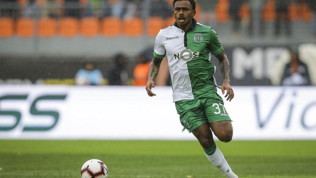 Wendel foi a grande novidade no primeiro treino do Sporting em 2019