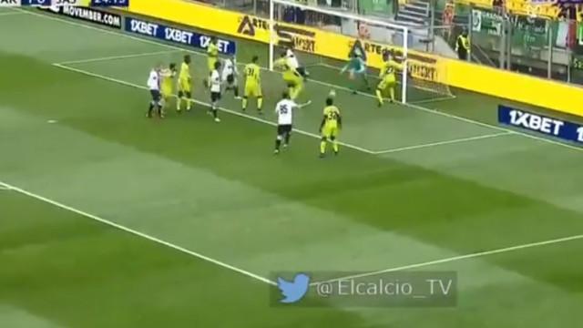 Bruno Alves aproveita 'oferenda' para se estrear a marcar pelo Parma