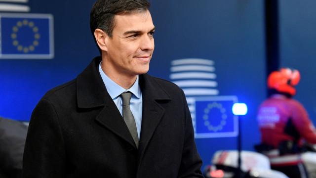 Sánchez transmitiu a May intenção de chegar a um acordo sobre Gibraltar