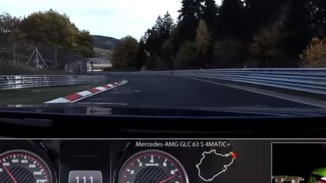 A prova de que o Mercedes-AMG GLC63 S é o SUV mais rápido do mundo