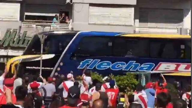 O depoimento arrepiante do condutor do autocarro do Boca Juniors