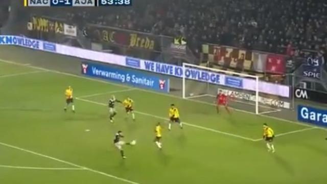 Labyad (lembra-se?) marcou golaço pelo Ajax