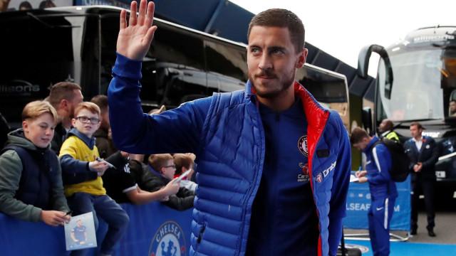 Roberto Martínez 'desconfia' da saída de Hazard do Chelsea