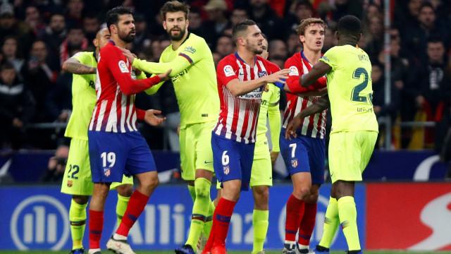 """Diego Costa perdeu cabeça com Griezmann: """"O teu colega sou eu"""""""