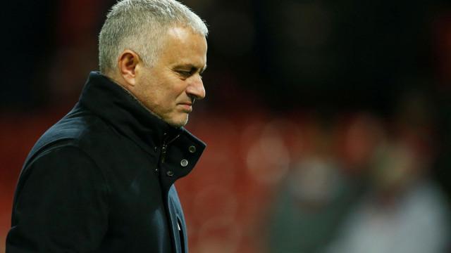 A reação de Mourinho ao erro de Rashford já faz furor nas redes sociais