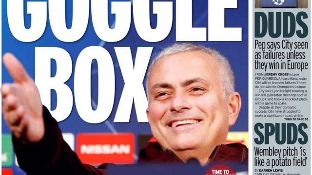 Lá fora: O dia das decisões e o recado de Mourinho aos seus jogadores