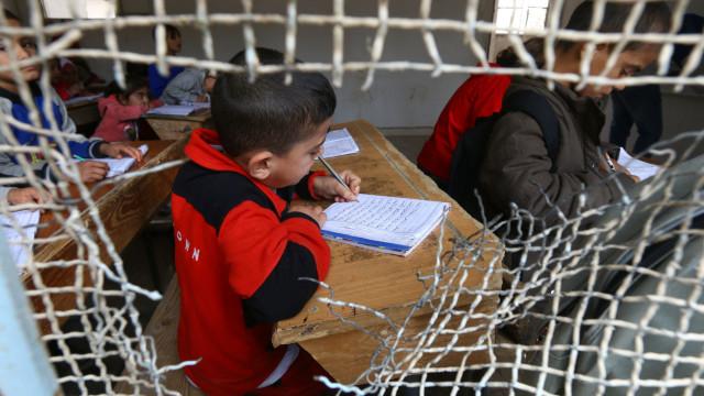 O regresso às aulas entre as ruínas de cidade que o ISIS destruiu