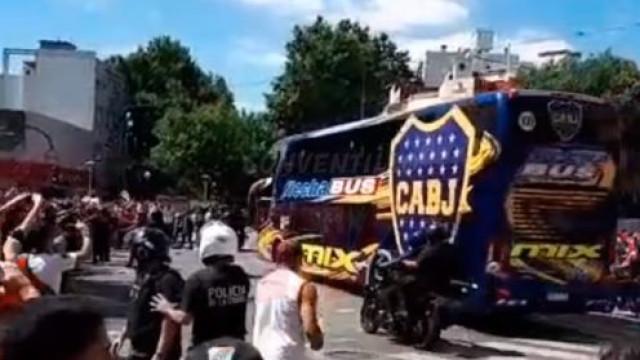 Revelados áudios que 'provam' emboscada ao autocarro do Boca Junior