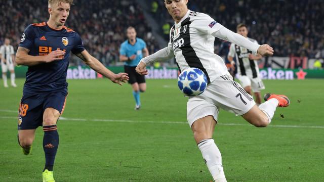 Ronaldo entrou (mais uma vez) na história da Liga dos Campeões